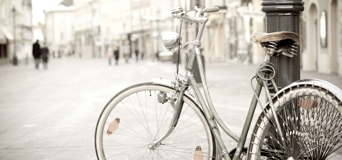 A beautiful vintage bike